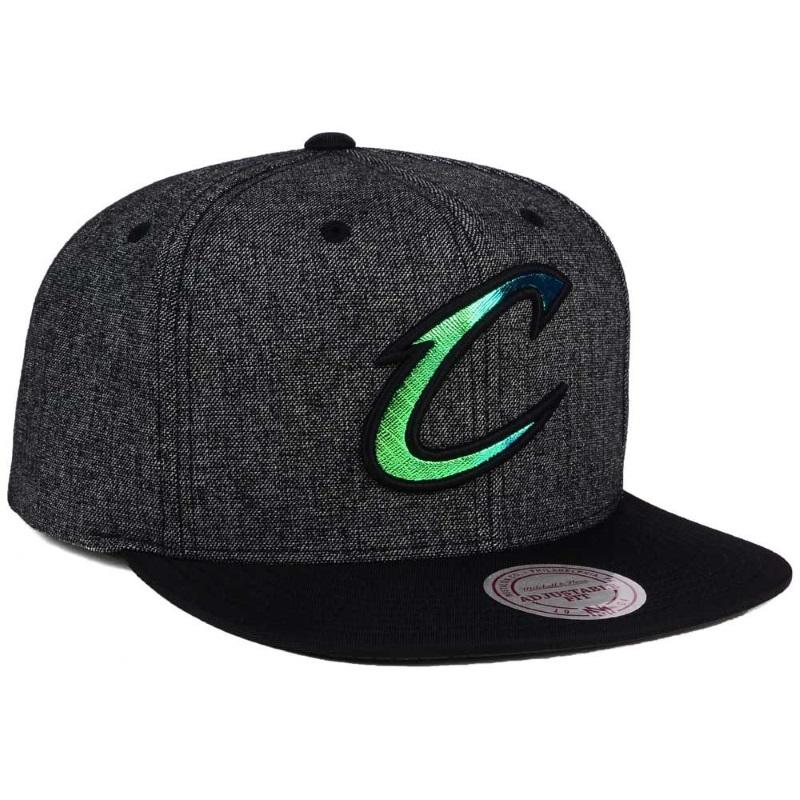 8ed1b8ff6f82a Gorra Cleveland Cavaliers gris con logo reflectante – BalonBall