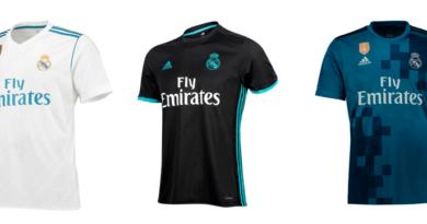 nuevas camisetas Real Madrid