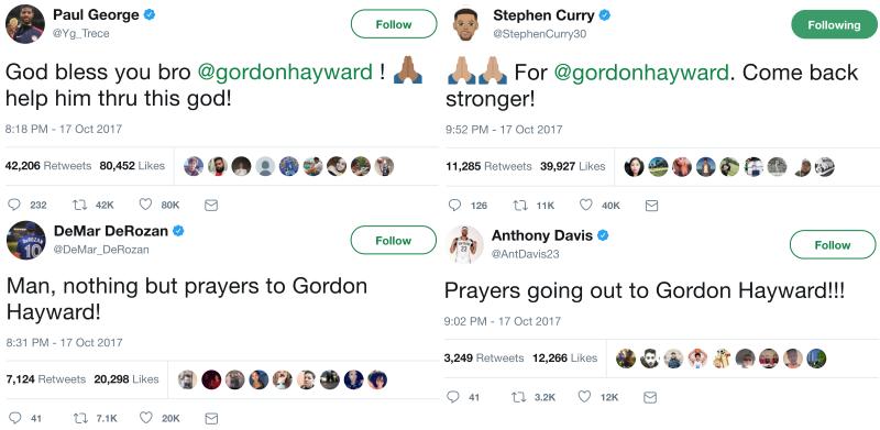 oraciones por Hayward