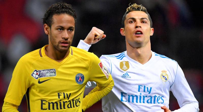 Neymar y Cristiano