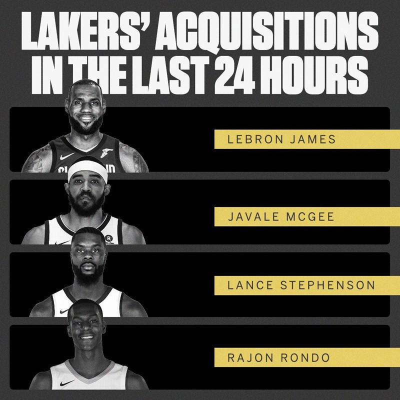 Nuevos Lakers