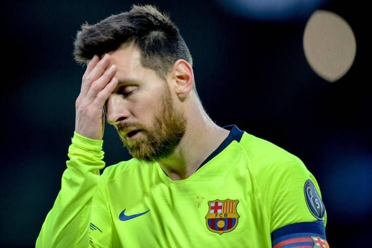 Messi desaparecido